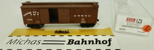 Northern Pacific 40' Outside Braced Box Car Micro Trains Line 29030 1:160 P62 å