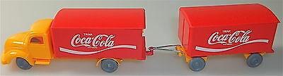 Coca Cola Magirus Rundhauber Hängerzug orange rot IMU H0 1:87 #33# å