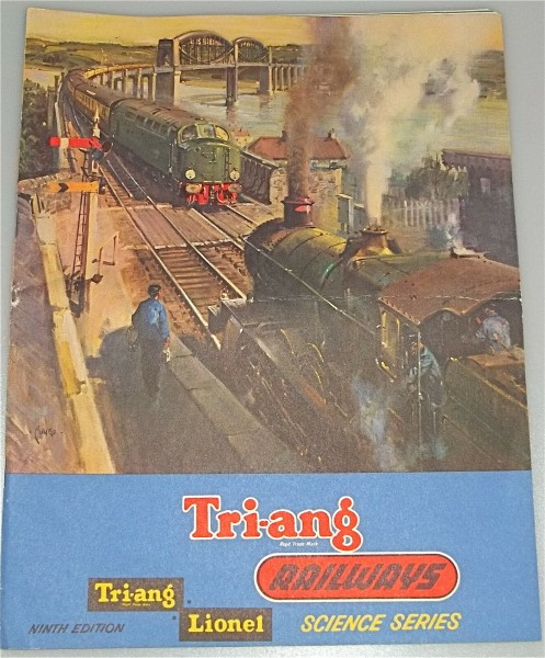 Tri ang Railways Lionel NINTH EDITION Katalog Faltblatt # å