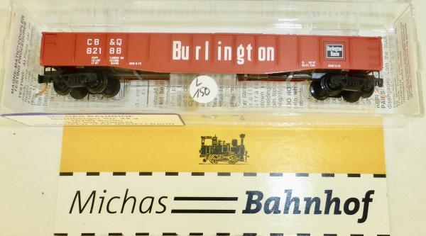 MICRO TRAINS 46030 Burlington CB&O 82188 50' Gondola drop ends N 1:160 #150L.å