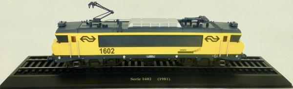Elektrolok Serie 1602 (1981) H0 1:87 Standmodell auf Sockel Atlas 7153126 LIH µ
