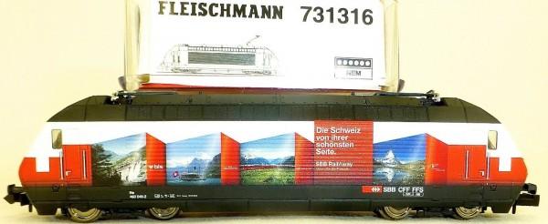 SBB Re 460 048-2 RailAway EpVI DSS NEM 651 Fleischmann 731316 N 1:160 OVP å *