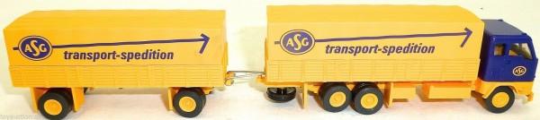ASG transport spedition Hängerzug Volvo LKW H0 1:87 HJ1 å √ *
