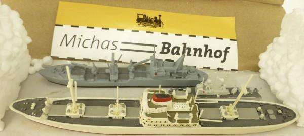 3 Schiffsmodelle MS Cap Blanco PKI143 Westerwald 05 219 1:1250 SHP75 å *