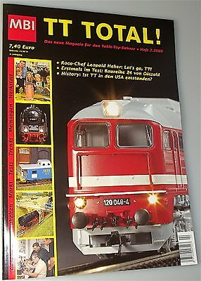 TT Total 3te Jahrgang Heft 2 aus 2009 MBI µ *
