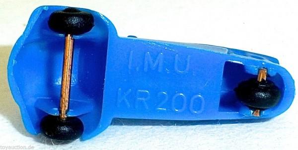 KR200 BLAU Kabinenroller Messerschmitt IMU 1:87 H0 HA2 å *