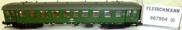 Eilzugwagen 2Kl Bye 655 DB Zugschlussb Ep4 Fleischmann 867904 N 1:160 OVP HR5 µ*
