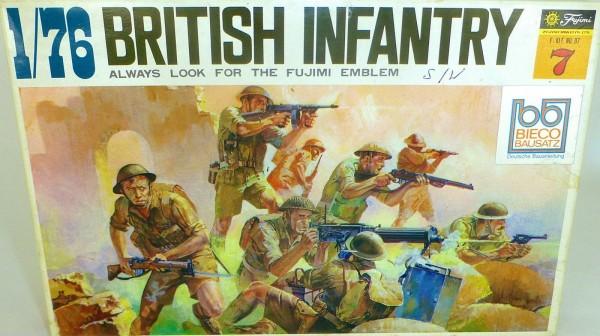 British Infantry Fujimi 07 1:76 LF4 å