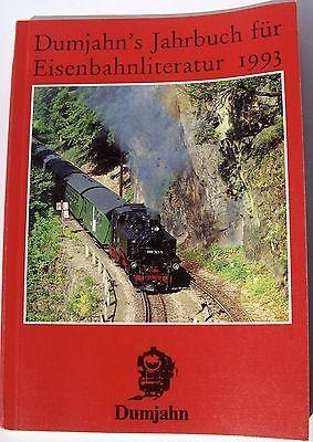 Dumjahns Jahrbuch für Eisenbahnliterartur 1993 Duhmjahn Verlag 212 Seiten å