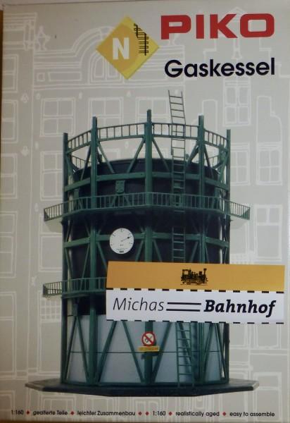 Gasometer PIKO 60013 Bausatz ungebaut OVP neuwertig N 1:160 HH3 å