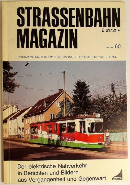 Straßenbahn Magazin Heft 60 Mai 1986, S.81-160 Franckh'sche Verlagshandlung