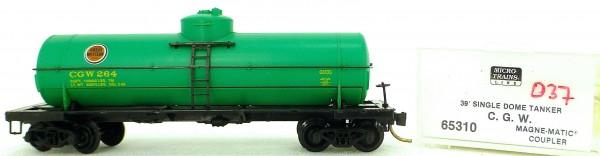 Micro Trains Line 65310 C.G.W. 264 39' Single Dome Tank Car 1:160 OVP #i037 å