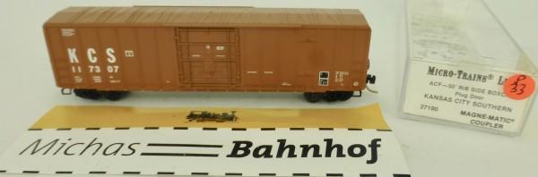 Kansas City South 50' Rib Side Boxcar 117307 Micro Trains Line 27190 1:160 P33 å