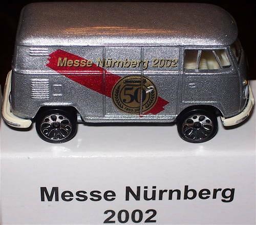 VW T1 Messe Nürnberg 2002 Matchbox Werbemodell #HB5 å√