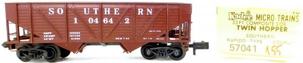 Micro Trains Line 57041 Southern 104642 33' Twin Hopper 1:160 OVP #i155 å