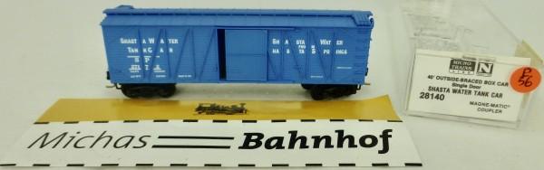 Shasta Water Tank 40' Outside Braced Box Car Micro Trains Line 28140 1:160 P56 å