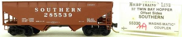 Micro Trains Line 55330 Southern 285539 33' Twin Hopper OVP 1:160 #K119 å