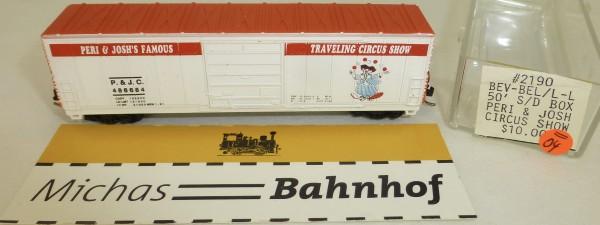 peri josh's famous traveling circus show 50' S/D Box Life Like 2190 N 1:160 #=04 å