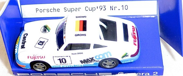 Porsche Super Cup 93 Nr10 IMU EUROMODELL 00215 H0 1:87 OVP # HO2 å