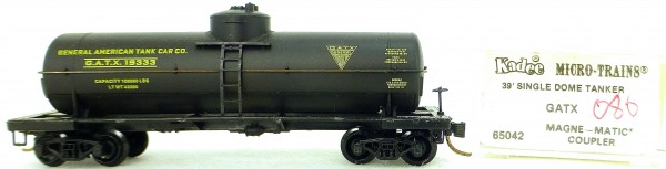 Micro Trains Line 65042 GATX 19333 39' Single Dome Tank Car 1:160 OVP #i080 å