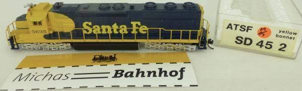 SD 45-2 Santa Fe 5635 Diesellok ATSF N 1:160 N å