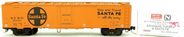 Micro Trains Line 52050 SFRD 5033 52'2'' Riveted Steel Expr OVP 1:160 #K082 å
