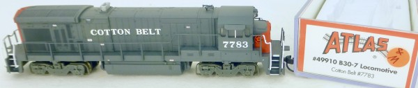 Atlas 49910 B30-7 Cotton Belt 7783 Diesellok Decoder Ready OVP N 1:160 #11& å