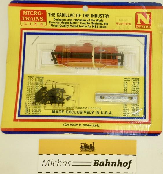 BLISTER KIT1 CGW 285 Kesselwagen Bausatz Micro Trains 65309 1:160 HC6 å