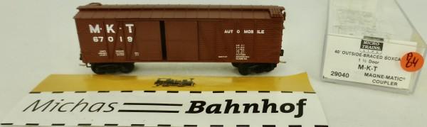 MKT 67019 40' Outside Braced Box Car Micro Trains Line 29040 1:160 P64 å