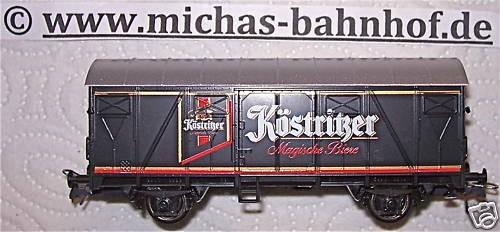 Köstritzer Magische Biere Bierwagen Werbewagen Roco H0 1/87 UL-UK å*