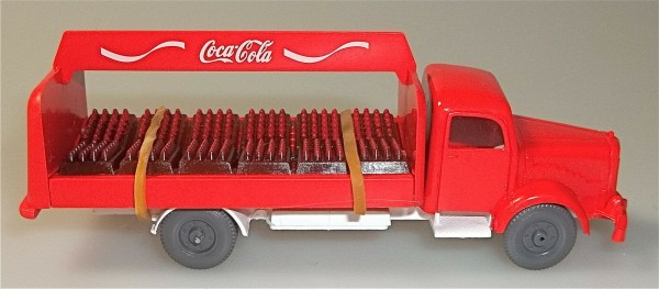 Coca Cola Getränketransporter RW Mercedes 5000 IMU 1:87 å
