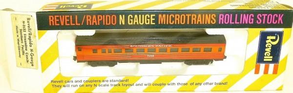 Southern Pacific Streamline Coach Revell rapido microtrains N-2632 OVP HT5 å *