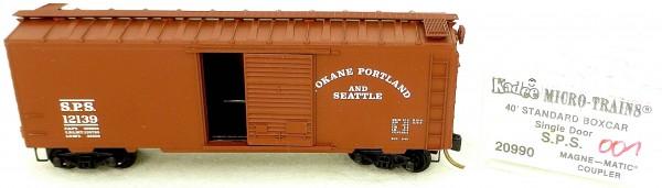 Micro Trains Line 20990 S.P.S. 40' Standard Boxcar 12139 1:160 OVP #H001 å