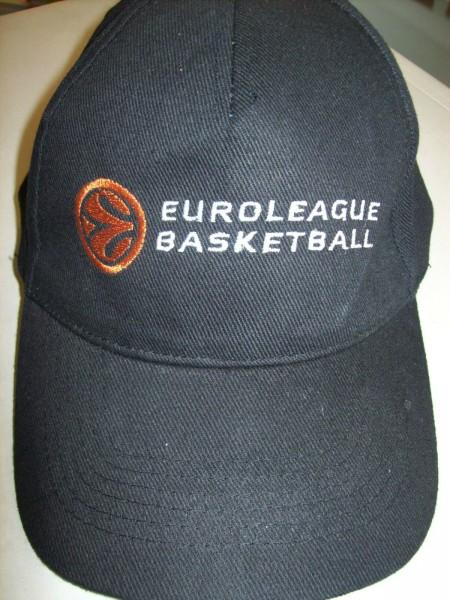 Euroleague Basketball Cap Mütze Klettverschluß NEU LC2 å *