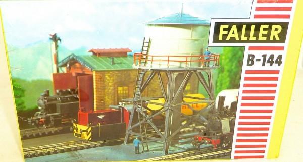 FALLER B 144 Wasserturm Bausatz Verschweisst 1960er 70er Jahre AMS OVP å *