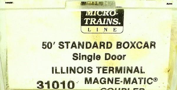 50´ Standard Boxcar ILLINOIS TERMINAL 9440 Micro Trains Line 31010 N 1:160 C å*