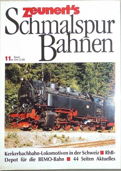 Band 11 Zeunert's Schmalspur Bahnen å *
