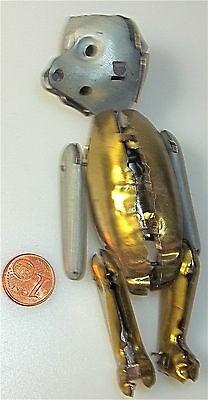 Metall Gerippe Rohling Schuco RARITÄT ca. 12 cm 50er/60er Jahre Antik å *