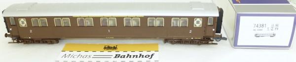 FS Serie 10.000 Roco 74381 Reisezugwagen 1/2 Kl H0 1:87 NEU OVP HE4 µ*