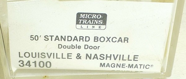Micro-Trains Line 34100 Louisville & Nashville 50' Standard Box Car N 1:160 A å*