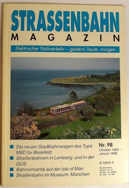 Straßenbahn Magazin Heft 98 Oktober 1995, S.265-352 Franckh'sche Verlagshandlung
