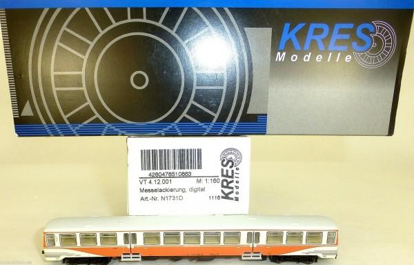 VT 4.12.001 Messelackierung digital EpIII KRES N1731D N 1:160 OVP HQ2 µ *