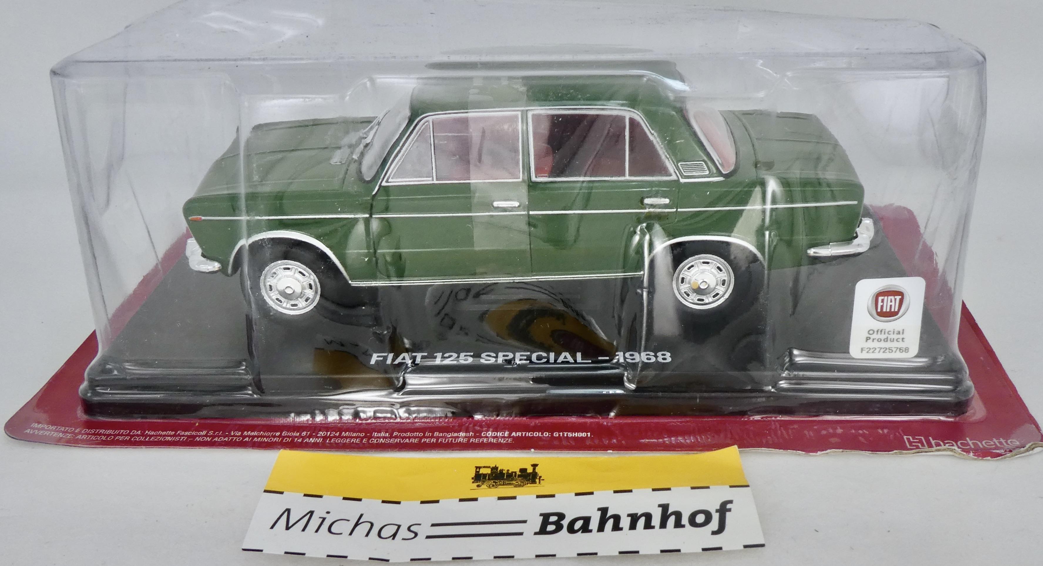 1968 neu sehr schönes Modell Türen zu öffnen 1:24 B2B2 µ Fiat 125 Special