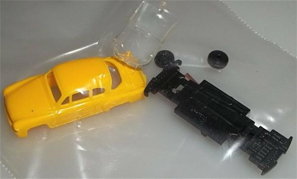 Wartburg Coupé gelb TT Bausatz 1/120 zum zusammenbauen Bausatz å *