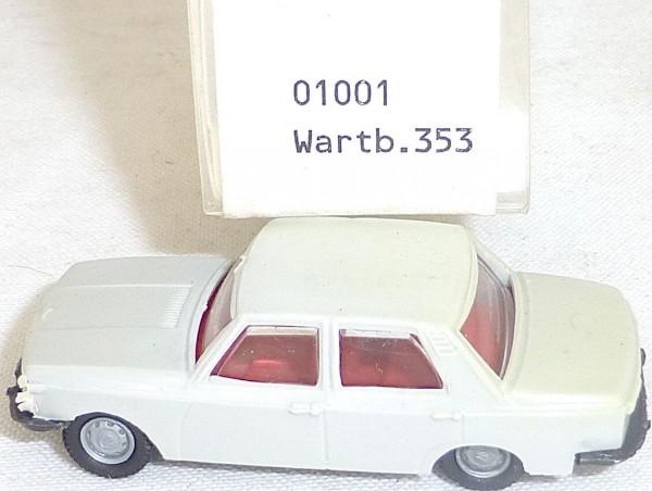 Wartburg 353 beigegrau IMU EUROMODELL 01001 H0 1/87 OVP #GA5 å√