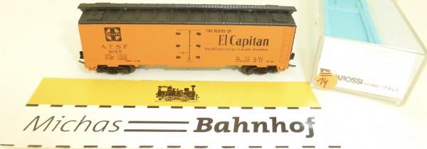ATSF 8155 El Capitan Reefer Car Rivarossi 9356 N 1:160 #=14 å