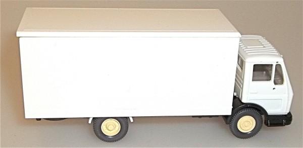 schönweiss LKW Kastenwagen LKW in weiß ohne Druck WIKING 1:87
