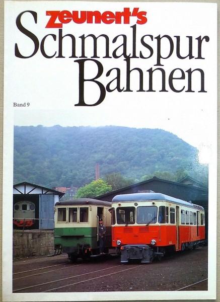 Band 9 Zeunert's Schmalspur Bahnen å *