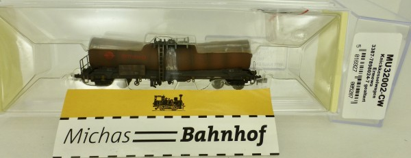 Knickkesselwagen Ermewa gealtert MU32002CW Modellbahn Union N 1:160 HR6 å