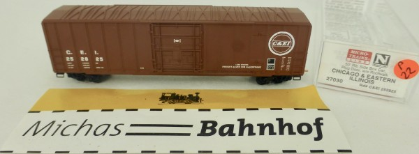C&EI 50' Rib Side Boxcar 252825 Micro Trains Line 27030 1:160 P22 å